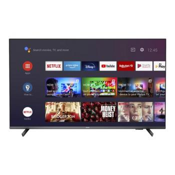 PHILIPS 43inch UHD Ambilight 3 Dolby Vision and Dolby Atmos Voice control Google Assistant Works with Alexa DVB-T/T2/T2-HD/C/S/S2